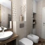 Square-moderna bania-beton i dyrvo-estestveni tonove