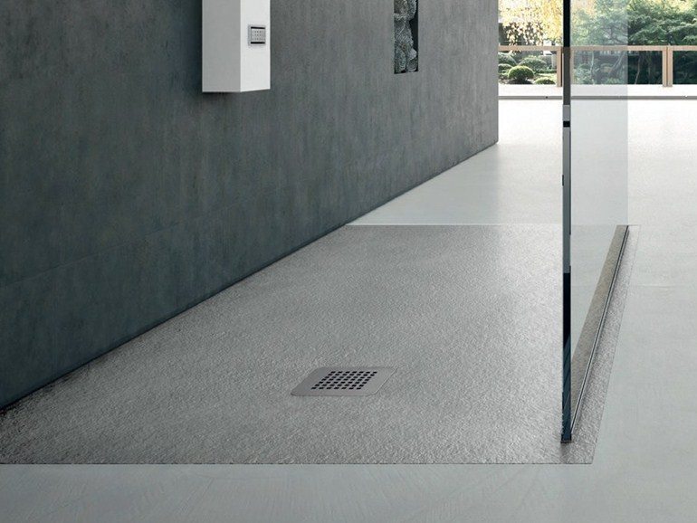 Hafro volturno - Piatto doccia incassato nel pavimento ...