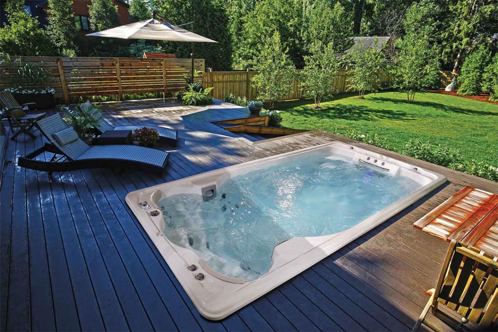 Jacuzzi мини басейн за плуване