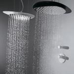 красива душ пита с възможност за цвят и осветление