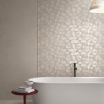 Красив геометричен декор за баня