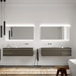 Нови изчистени шкафове за баня Berloni