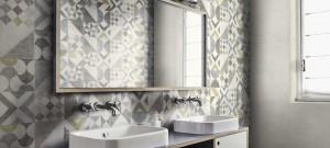 Стенни плочи за баня и декорация Cocciopesto Ragno