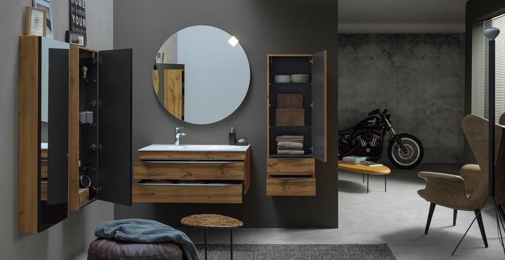 Нови мебели за баня с  3д фолио